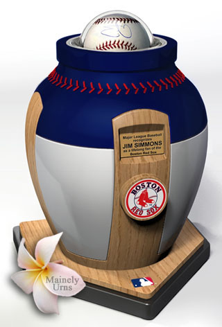 Boston Red Sox Cremation Urn